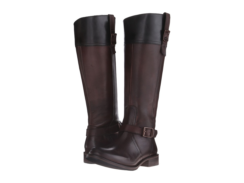 Wolverine Shannon Riding Boot (Dark Brown Leather) Women