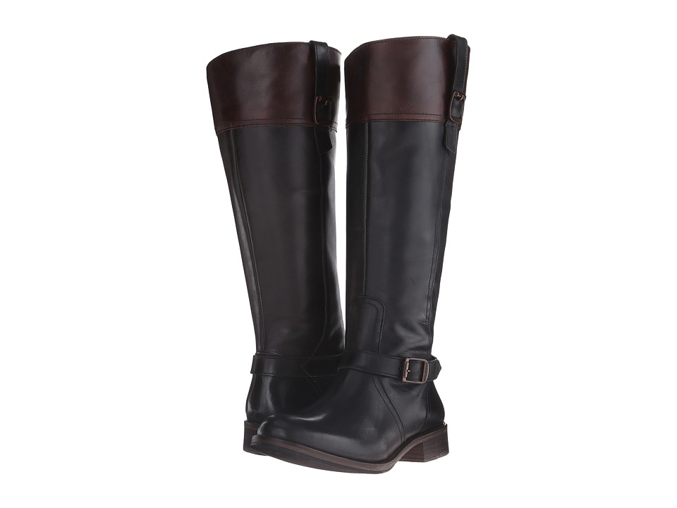 Wolverine Shannon Riding Boot (Black Leather) Women