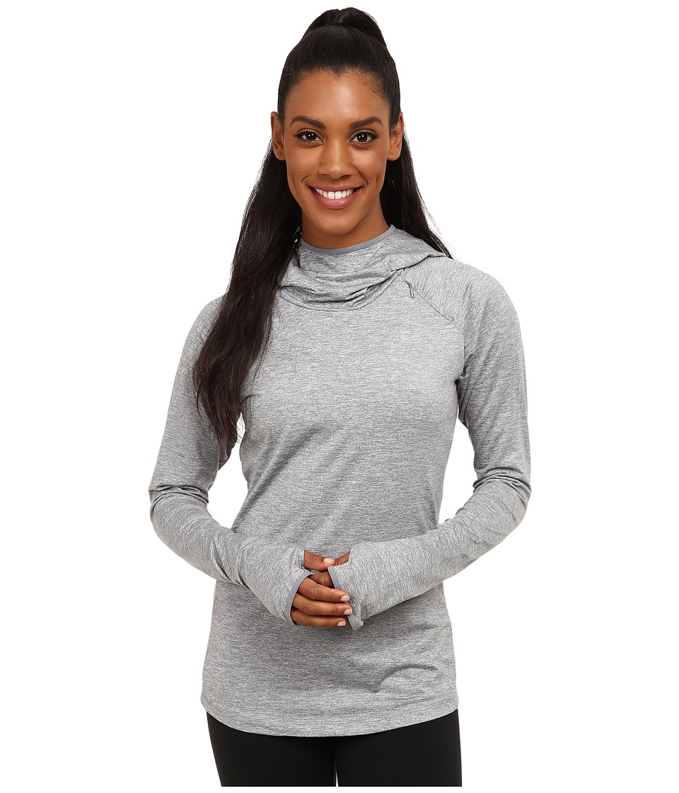Nike - Dry Element Running Hoodie (Cool Grey/Heather/Reflective Silver) Women's Sweatshirt
