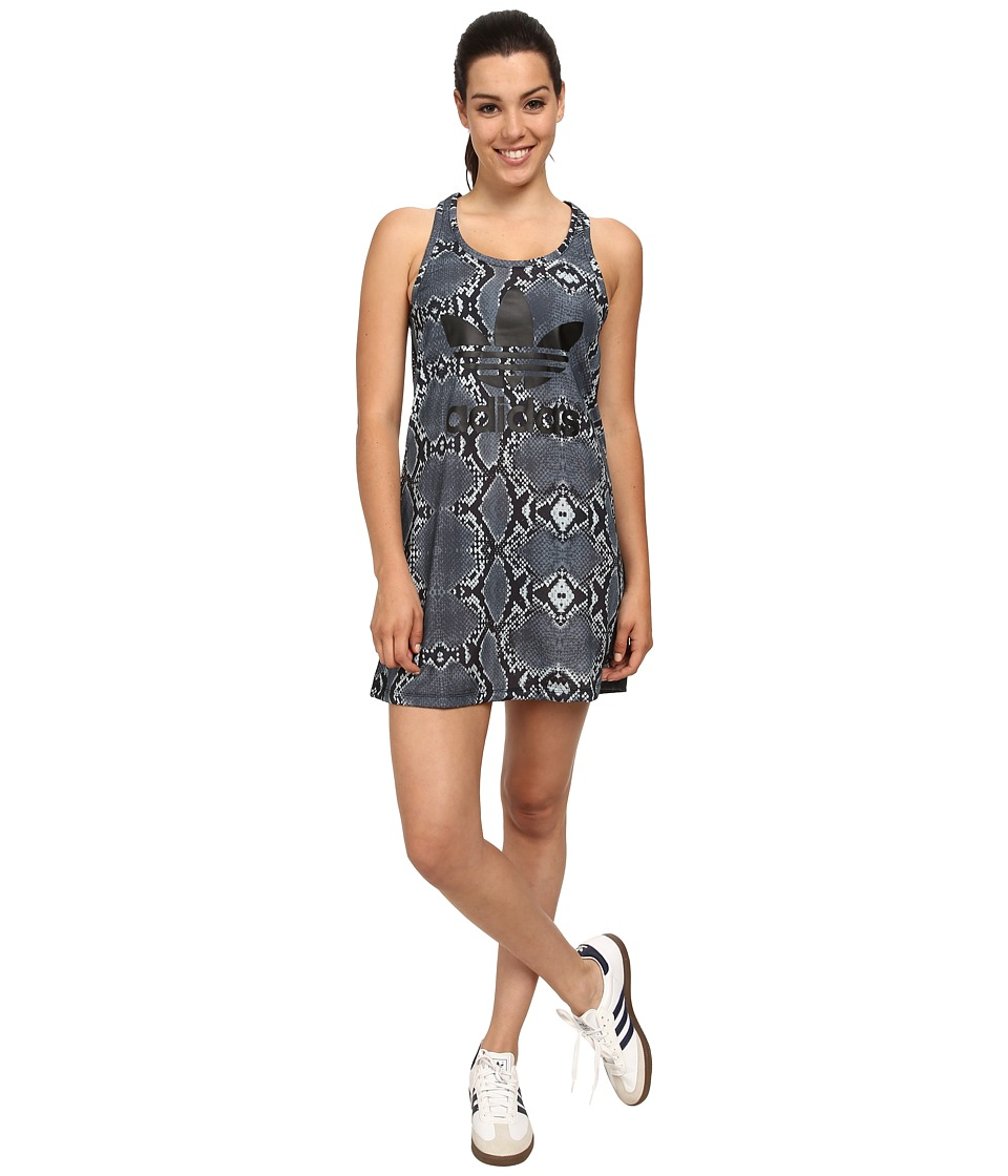 adidas Originals - La Printed Tank Dress (Multicolor) Women's Dress
