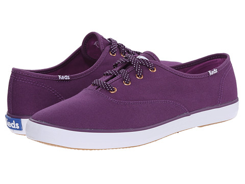 Keds - Champion Oxford (Wine Purple Canvas) Women's Lace up casual Shoes