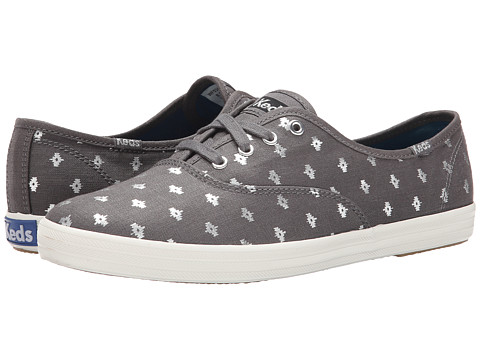 Keds - Champion Metallic Native Dot (Pewter Linen) Women