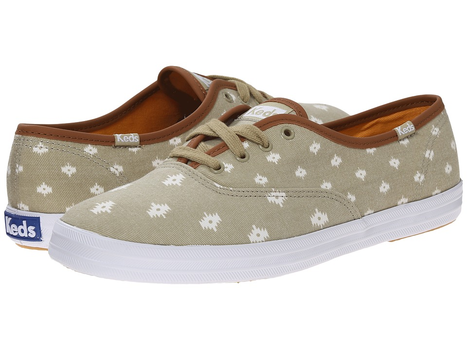 Keds Champion Native Dot (Taupe Twill) Women