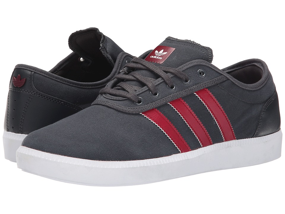 Image of adidas Skateboarding - Adi-Ease Cup (Black/White/Black) Men's Skate Shoes