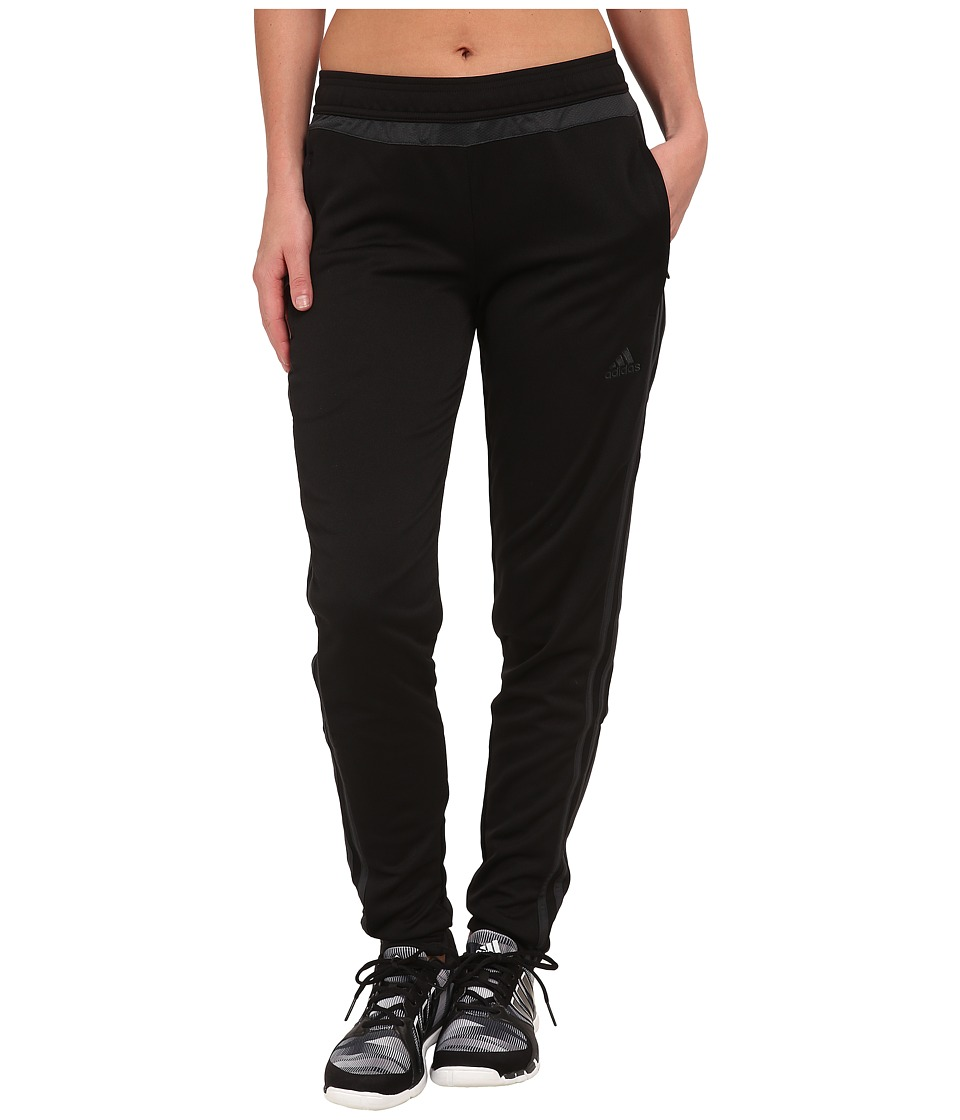 adidas Tiro 15 Training Pant (Black/Dark Grey) Women