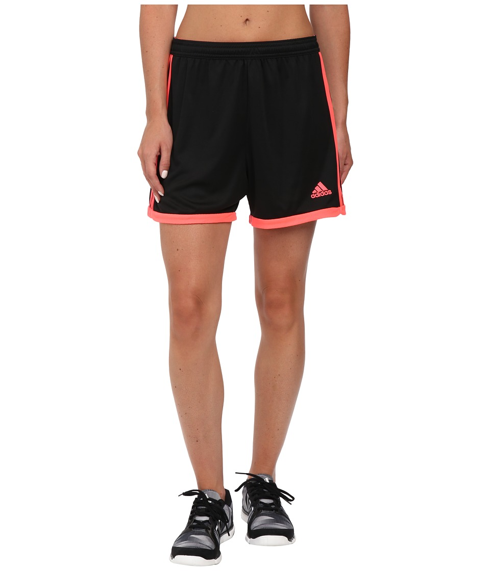 adidas - Tastigo 15 Knit Short (Black/Flash Red 1) Women's Shorts