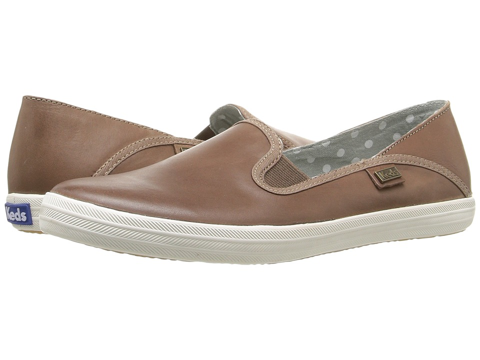 Keds Crashback Leather (Fog Grey) Women