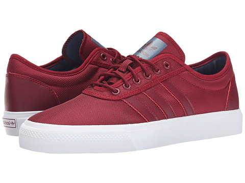 adidas Skateboarding - Adi-Ease (Burgundy/Burgundy/Fade Ink) Men's Skate Shoes