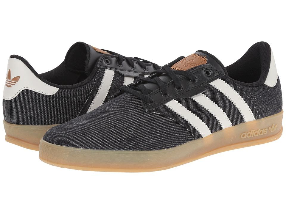 adidas Skateboarding - Seeley Cup (Black/Mist Stone/Gum) Men's Skate Shoes