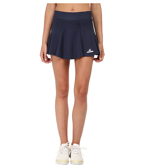 adidas - Stella McCartney Skort - New York (Midnight Grey/Glacial) Women's Skort