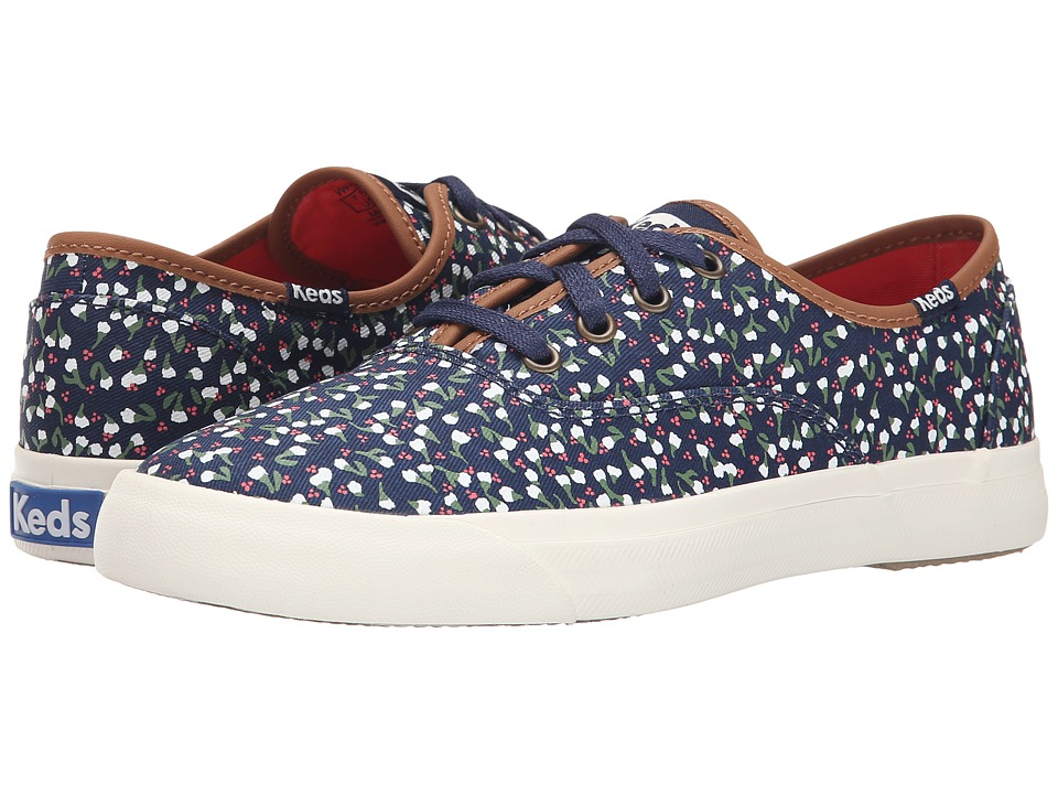 Keds - Triumph Ditsy Floral (Navy Twill) Women