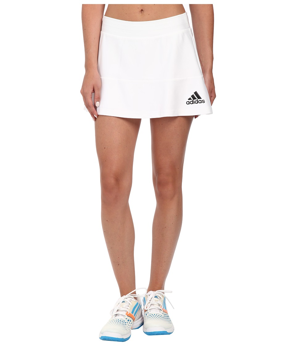 adidas - All Premium Skort (White/Black) Women's Skort