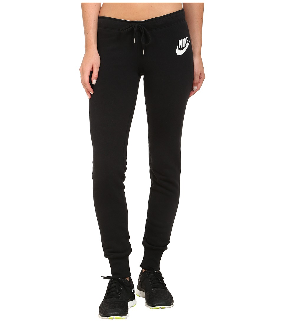 Nike - Rally Tight Pant (Black/Black/Summit White) Women's Casual Pants