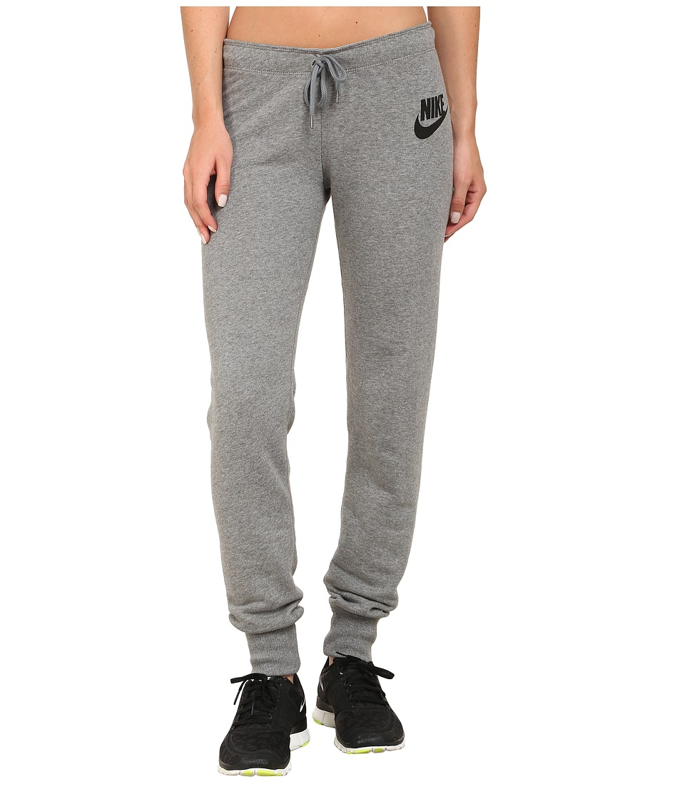 Nike - Rally Tight Pant (Carbon Heather/Cool Grey/Black) Women's Casual Pants