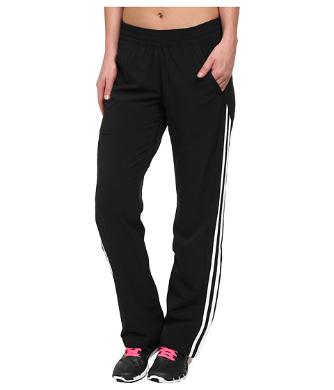 adidas - Response Track Pants (Black/White) Women's Workout