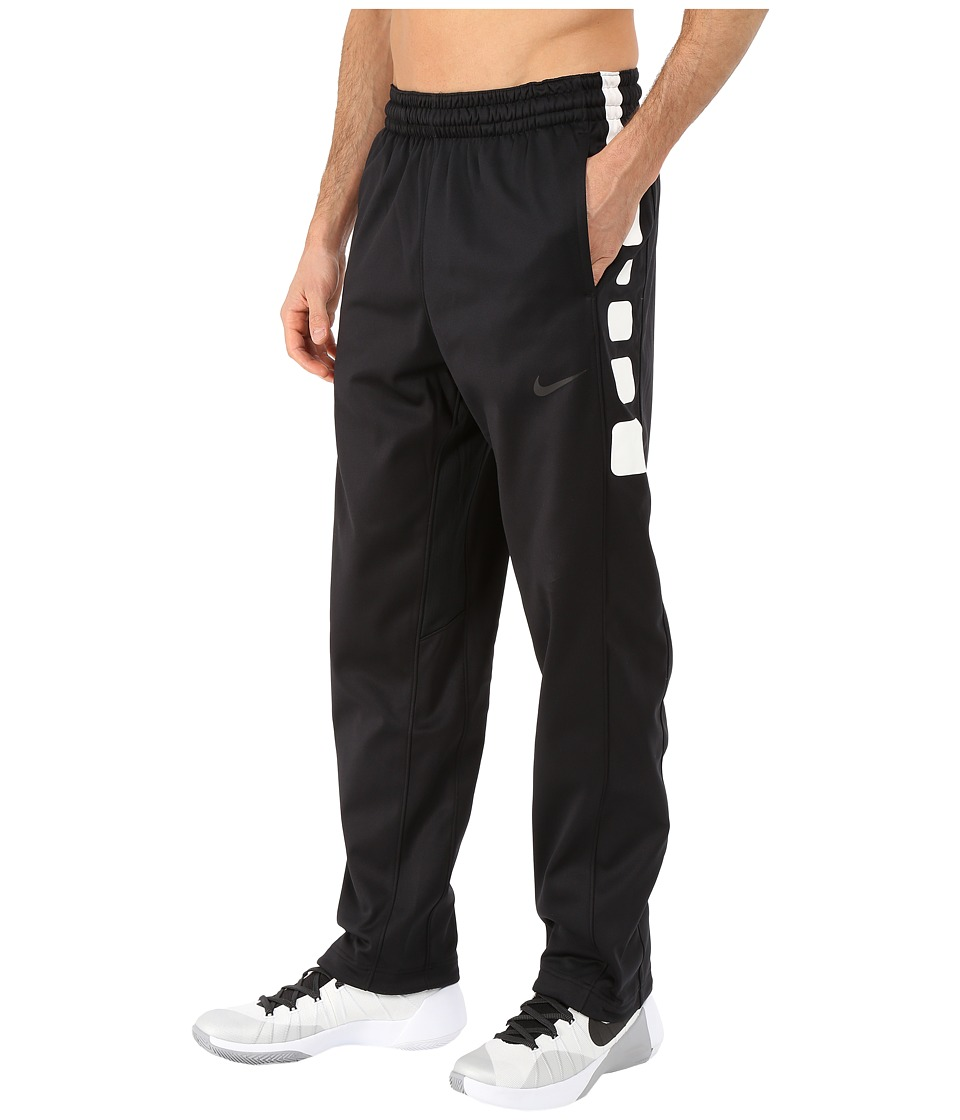 Nike - Elite Stripe Pants (Black/Black/White/Black) Men's Workout