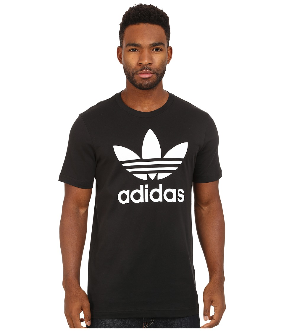 adidas Originals - Originals Trefoil Tee (Black/White) Men