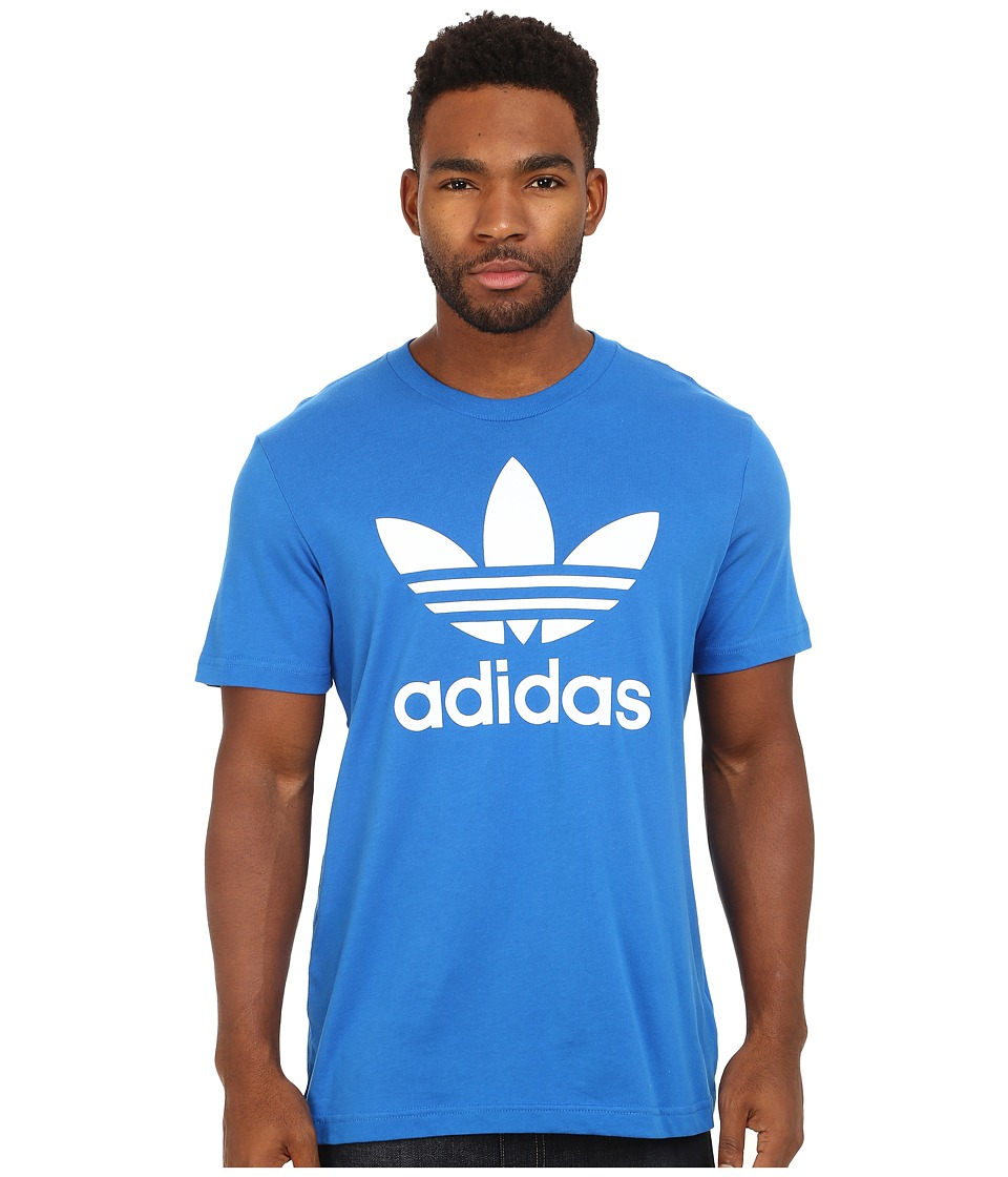adidas Originals - Originals Trefoil Tee (Bluebird/White) Men's T Shirt