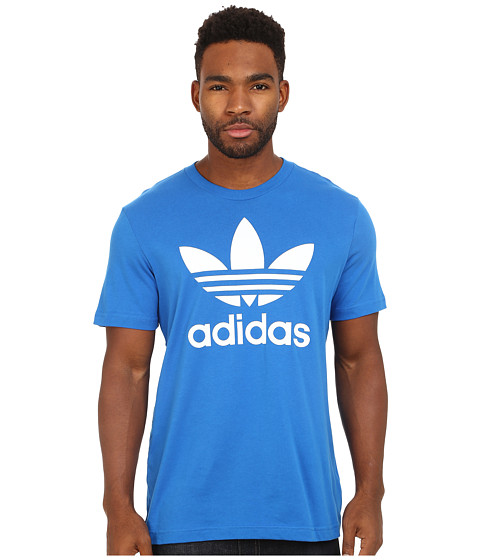 adidas Originals - Originals Trefoil Tee (Bluebird/White) Men