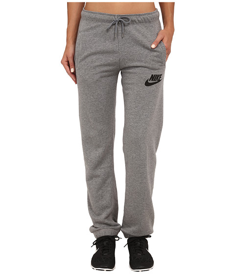Nike - Rally Regular Pant (Carbon Heather/Cool Grey/Black) Women