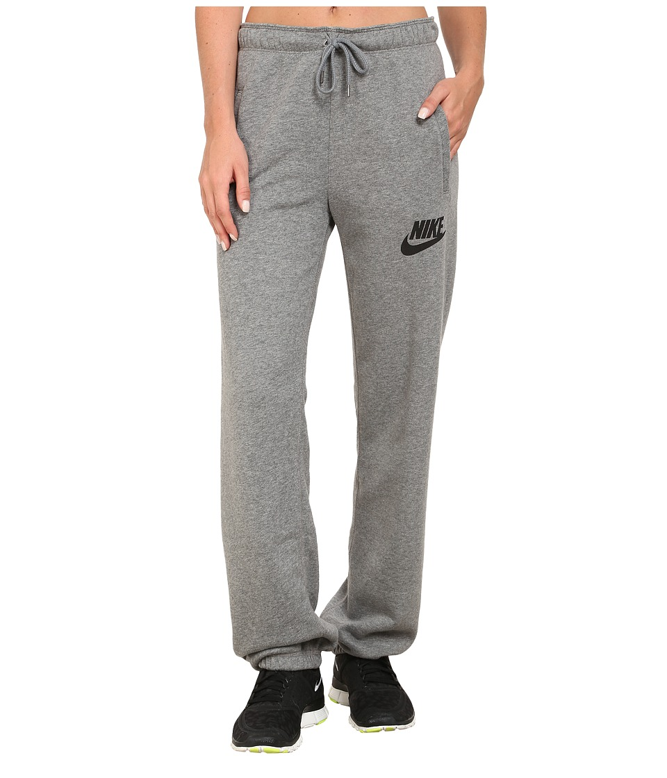 Nike - Rally Loose Pant (Carbon Heather/Cool Grey/Black) Women's Casual Pants
