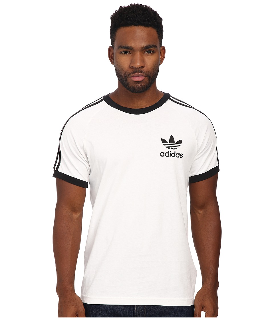 adidas Originals - Sport Essentials Tee (White/Black) Men's T Shirt