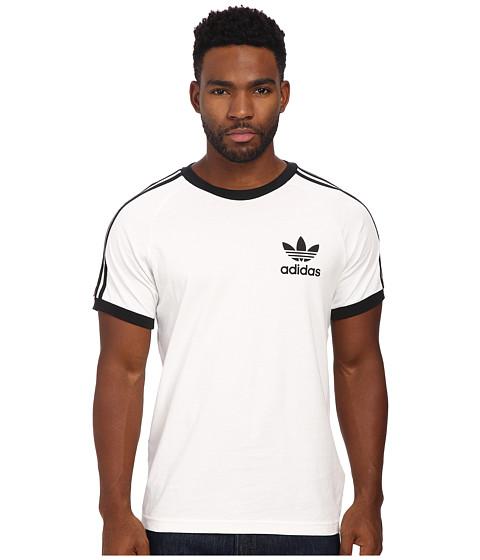 adidas Originals - Sport Essentials Tee (White/Black) Men's T Shirt