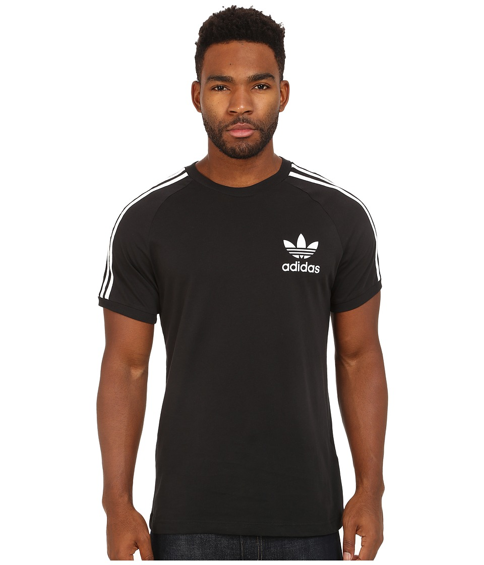adidas Originals - Sport Essentials Tee (Black/White) Men's T Shirt
