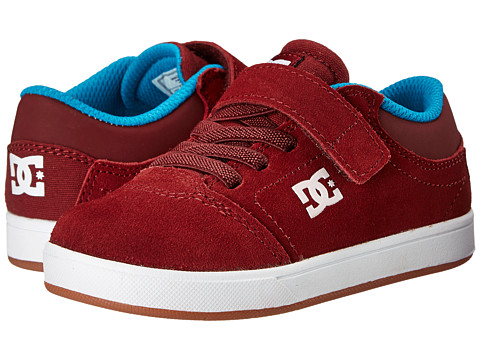 DC Kids - Crisis (Toddler) (Wine) Boys Shoes