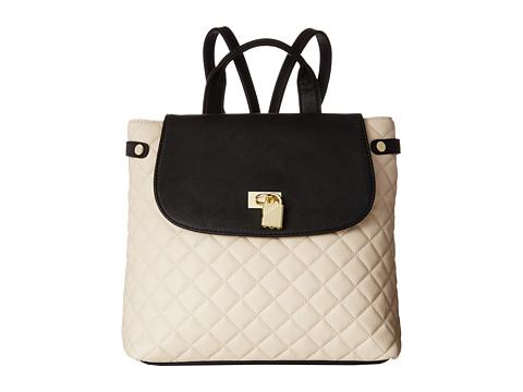Steve Madden - Balora Quilted Backpack (Black Multi) Backpack Bags