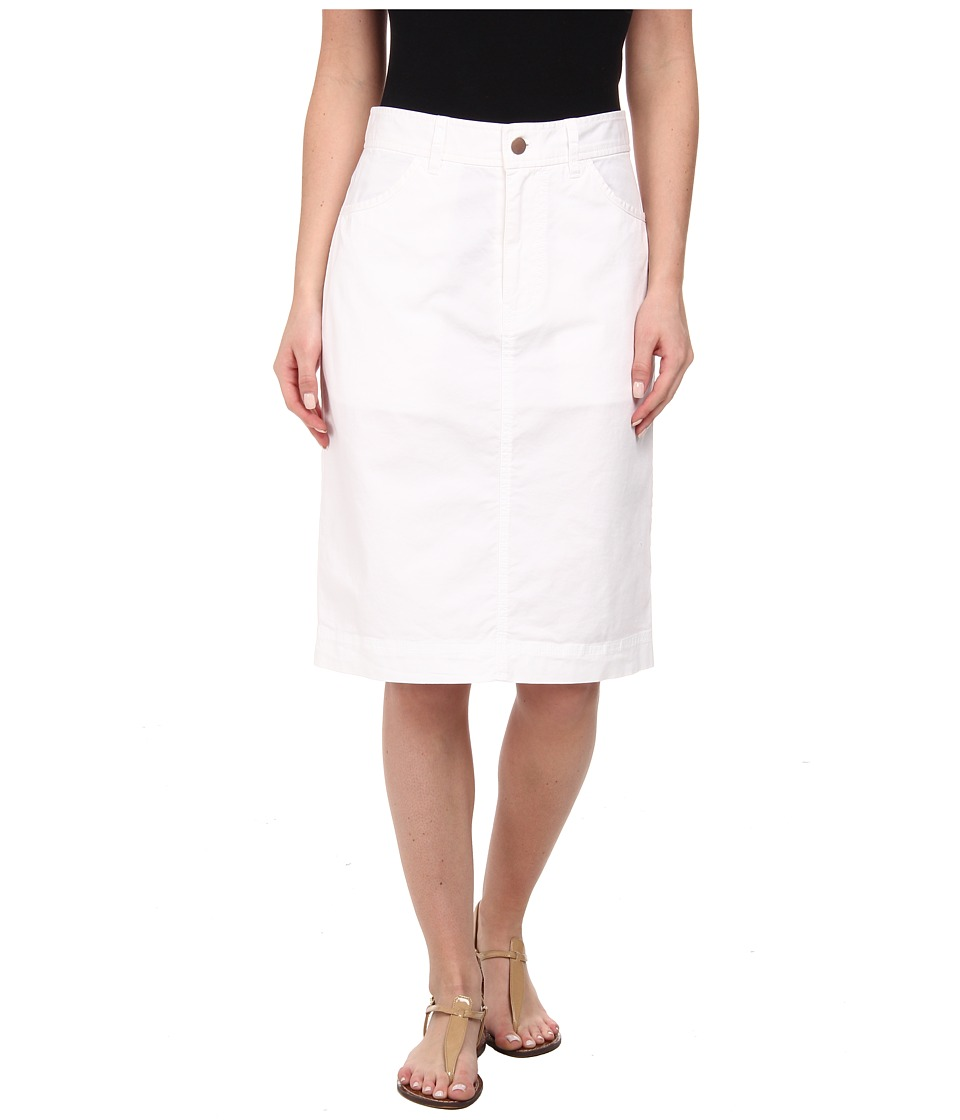 Pendleton - Cassie Skirt (White Washed Twill) Women's Skirt