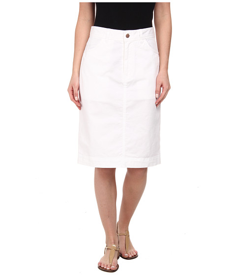 Pendleton - Cassie Skirt (White Washed Twill) Women