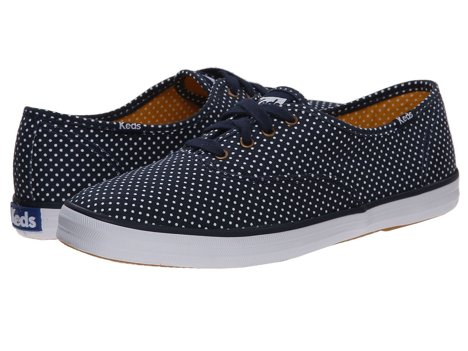 Keds Champion Micro Dot (Navy Twill) Women