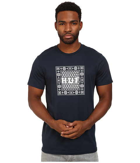 HUF - Bandana Tee (Navy) Men