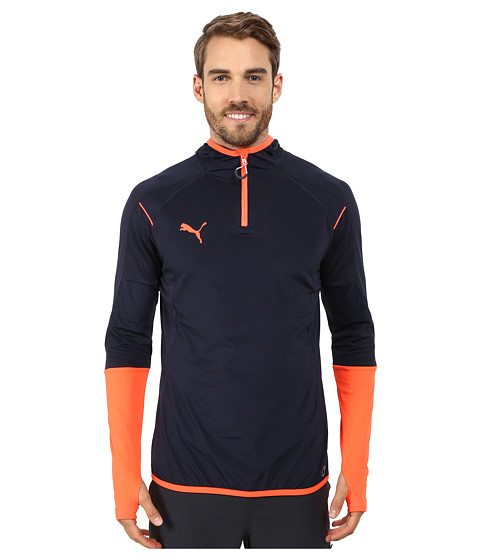 PUMA - IT Evotrg Hoodie (Total Eclipse/Lava Blast) Men