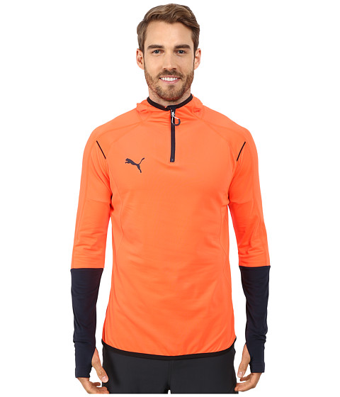 PUMA - IT Evotrg Hoodie (Lava Blast/Total Eclipse) Men's Sweatshirt