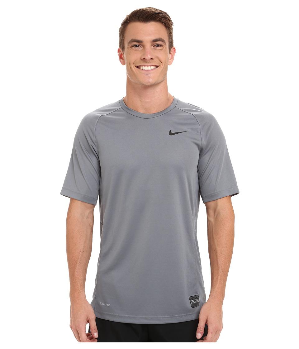 Nike - Elite Shooter (Cool Grey/Cool Grey/Black/Black) Men's T Shirt