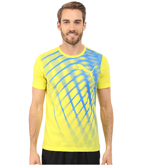 PUMA - Training Blur Tee (Sulphur Spring) Men