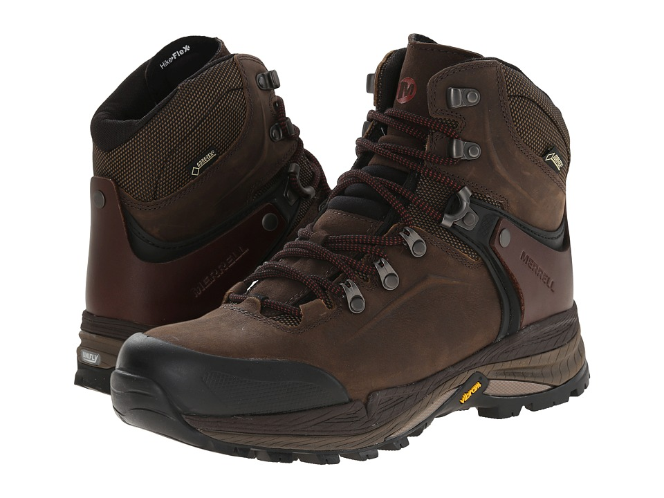 Merrell - Crestbound GORE-TEX(r) (Clay) Men's Hiking Boots