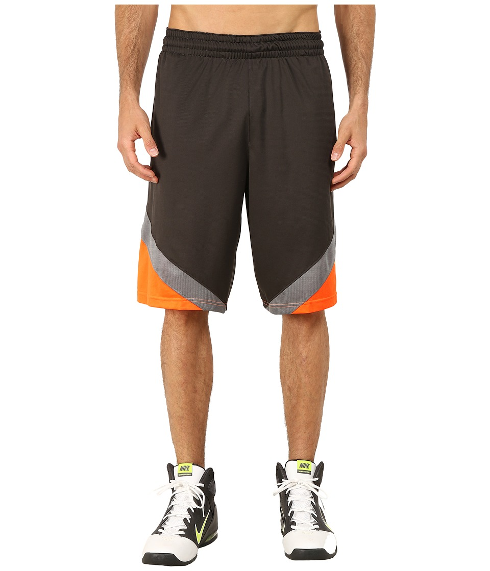 Nike - Breakaway Shorts (Deep Pewter/Total Orange/Tumbled Grey/Tumbled Grey) Men