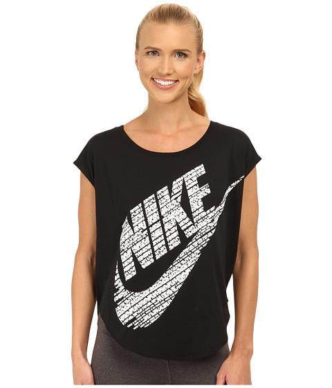 Nike - Signal Tee (Black/Summit White) Women's T Shirt
