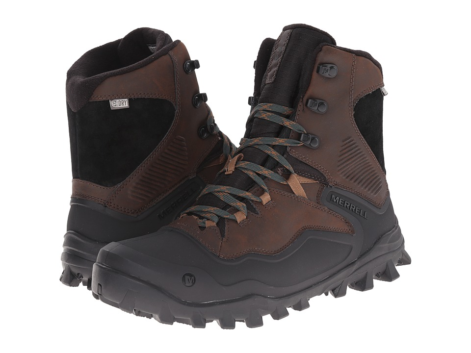 Merrell - Fraxion Shell 8 (Chocolate Brown) Men's Hiking Boots