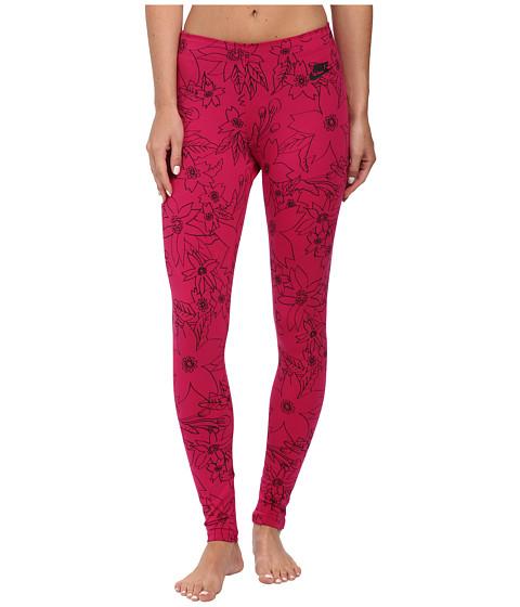 Nike - Leg-A-See Hawaiian 2 (Sport Fuchsia/Black) Women's Casual Pants
