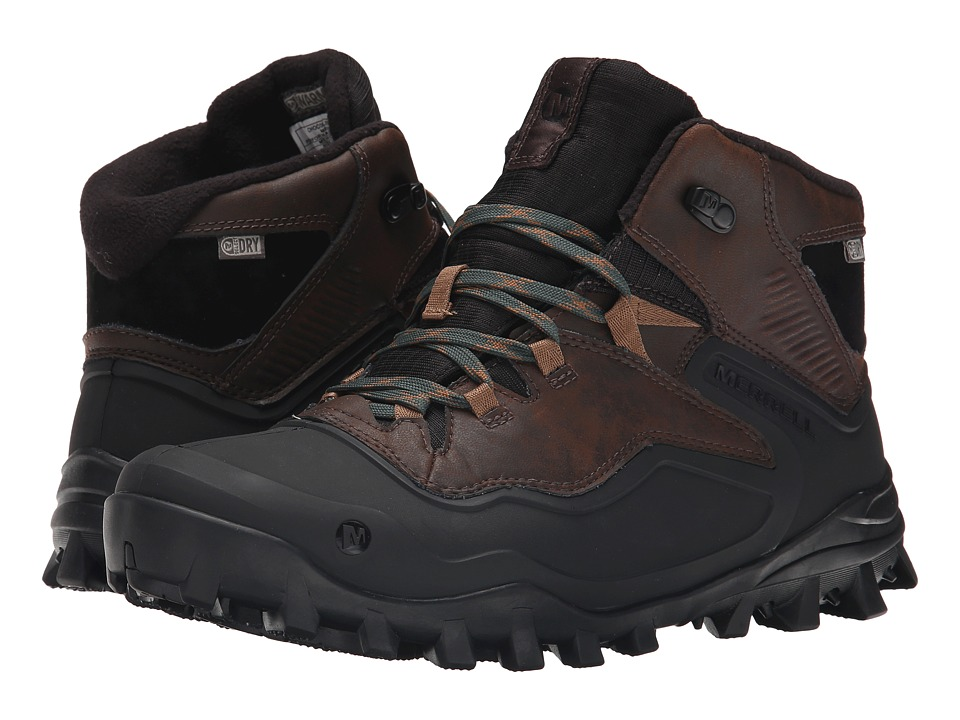 Merrell - Fraxion Shell 6 (Chocolate Brown) Men