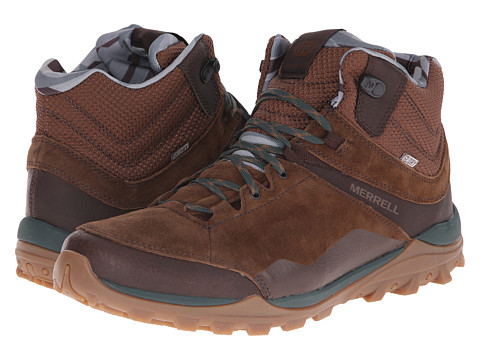 Merrell - Fraxion Mid Waterproof (Chocolate) Men's Hiking Boots