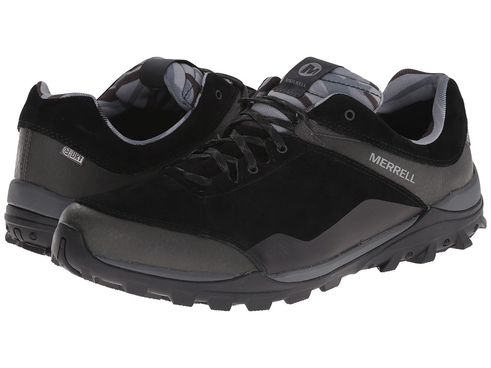 Merrell - Fraxion Waterproof (Black) Men's Climbing Shoes