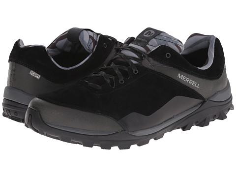 Merrell - Fraxion Waterproof (Black) Men