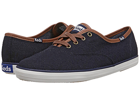 7909d80c3e1d ... UPC 044212757871 product image for Keds - Champion Wool (Navy Heathered  Wool) Women s Lace ...