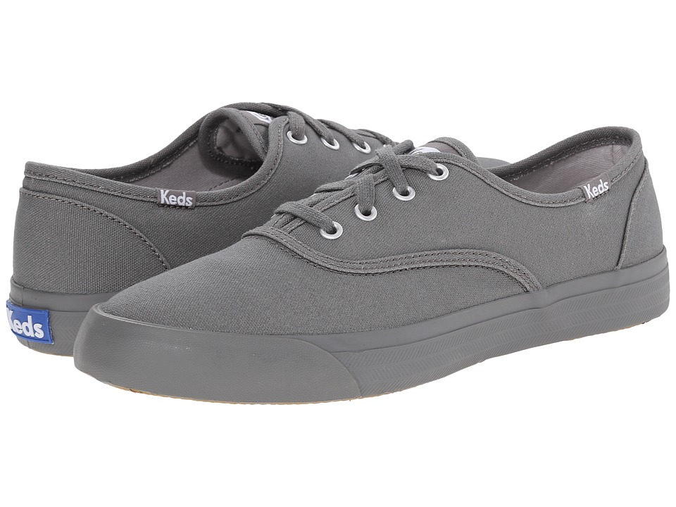 Keds - Triumph Seasonal Solid (Gray Canvas) Women's Lace up casual Shoes