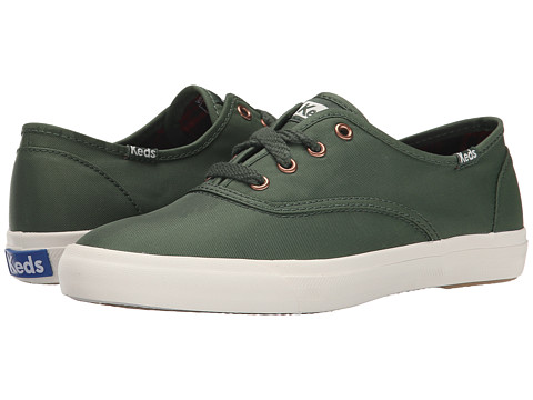 Keds - Triumph Nylon (Forest Green) Women